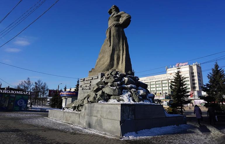 Памятник Сказ об Урале Челябинск
