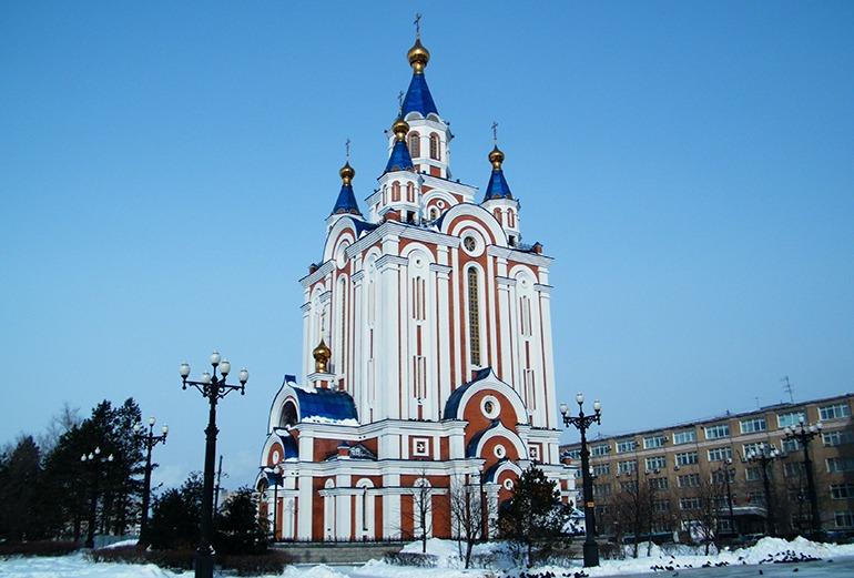 Успенский собор Хабаровск