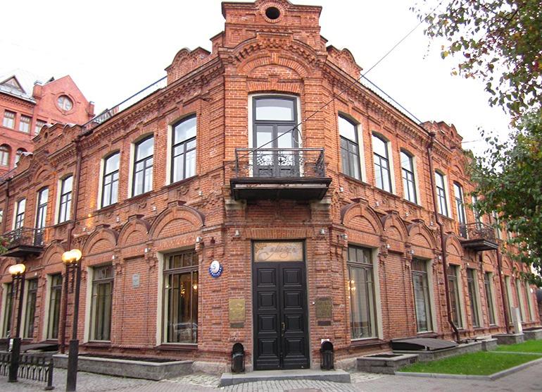 Дом купца Крюкова Новосибирск