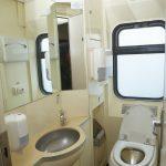Поезд «Невский экспресс». Туалет