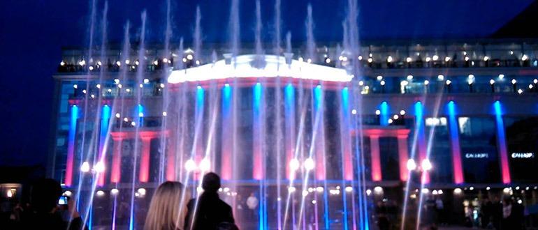 Поющий фонтан Тула