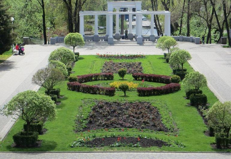 Городской сад Краснодар