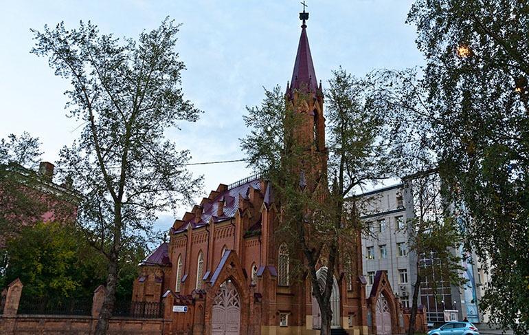 Римско-католический костёл Иркутск