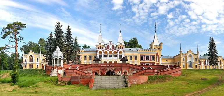 Усадьба фон Дервизов в селе Кирицы Рязань