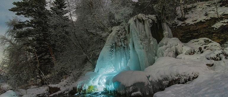 Водопад Плакун Пермь