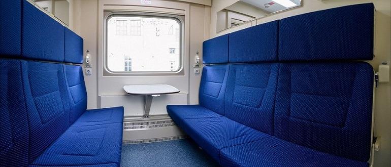 СВ поезда «Арктика»