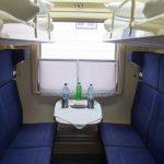Интерьер купе фирменного поезда «Белые ночи»