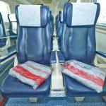Интерьер вагона с местами для сидения (1 класс) «Дневной экспресс»