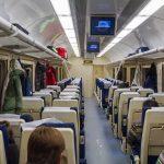 Интерьер вагона с местами для сидения (2 класс) «Дневной экспресс»