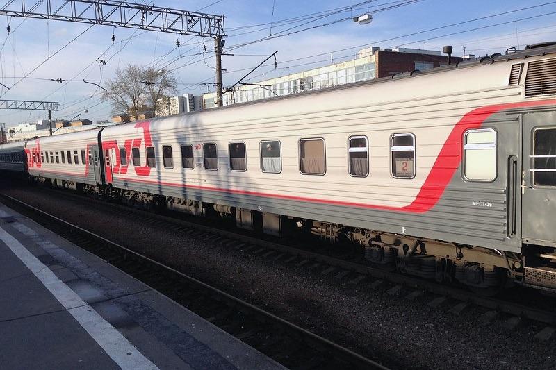 Маршрут поезда 015Е «Урал Премиум» Екатеринбург - Москва