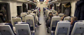 Сидячие вагоны: особенности и преимущества